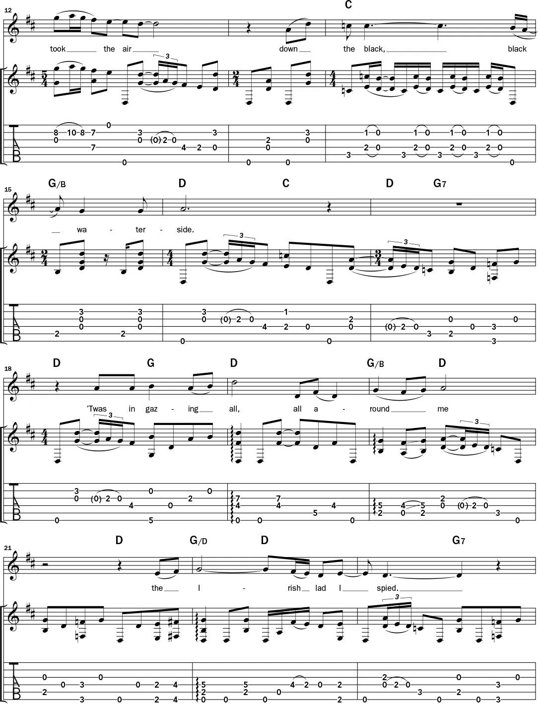 Acoustic Classic Play Bert Jansch S Arrangement Of The Trad Tune