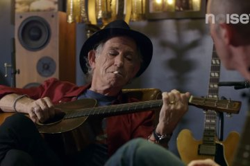 Keith Richards YouTube Interview 2015