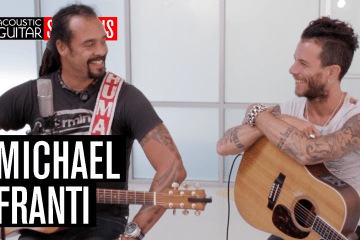 Michael Franti Acoustic Guitar Session