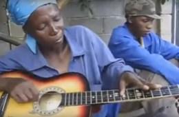 African guitar virtuoso
