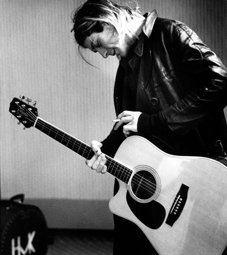 Kurt Cobain (photo by Michael Linssen)