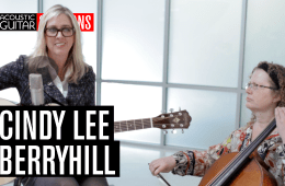 Cindy Lee Berryhill Acoustic Guitar Session