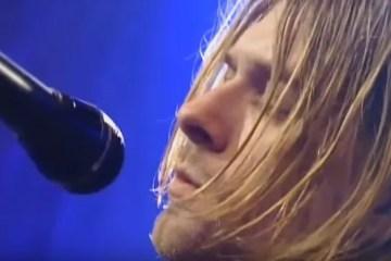 Kurt Cobain Nirvana Unplugged