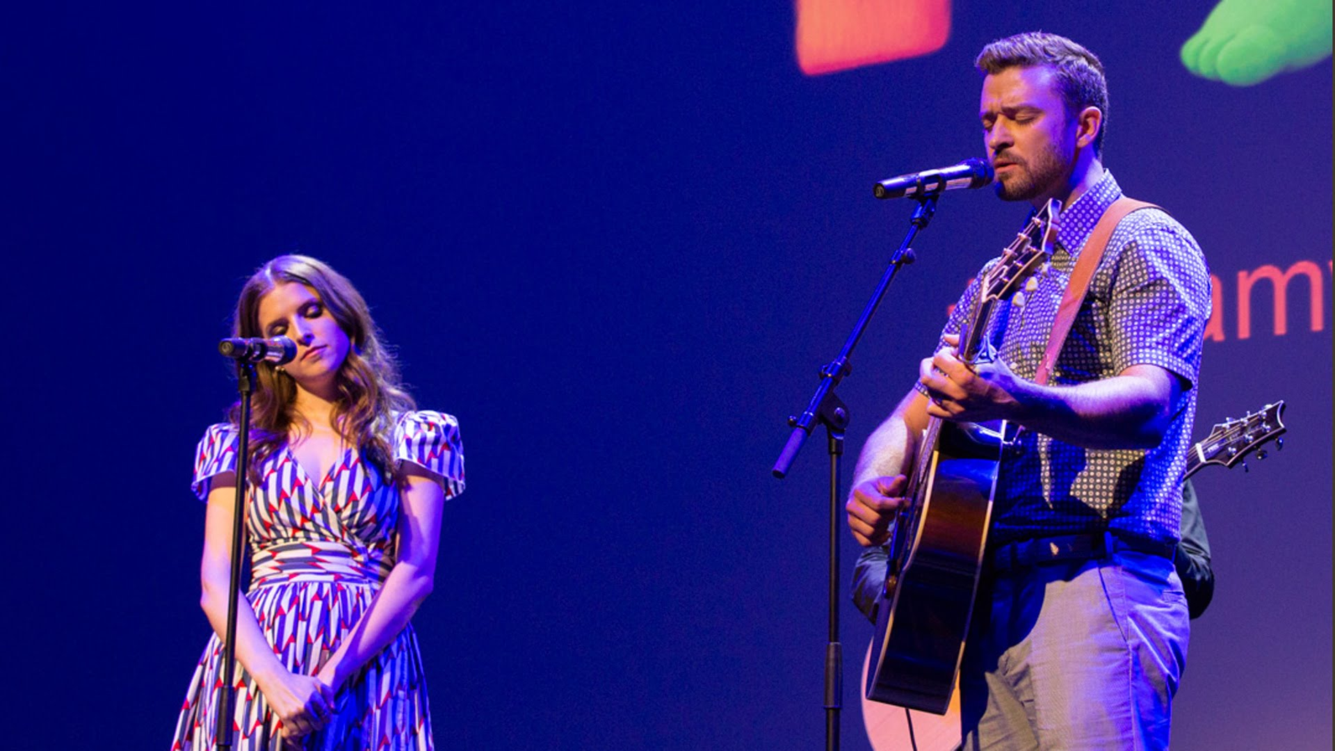 Watch Justin Timberlake On Acoustic Guitar Perform Cyndi Laupers