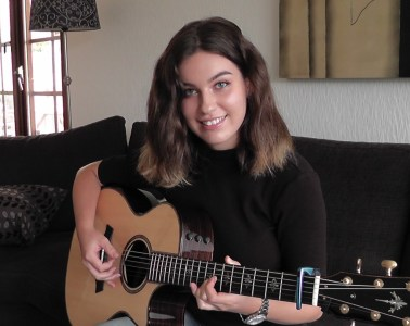 Swedish fingerstyle guitarist Gabriella Quevedo