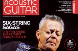 acoustic guitar september 2016