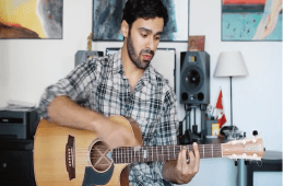 How to Play Percussive Acoustic Guitar Rhythms with Maneli Jamal
