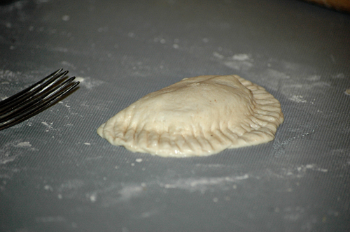 apple turnovers forked