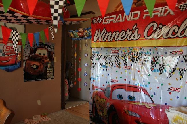 CARS birthday party5