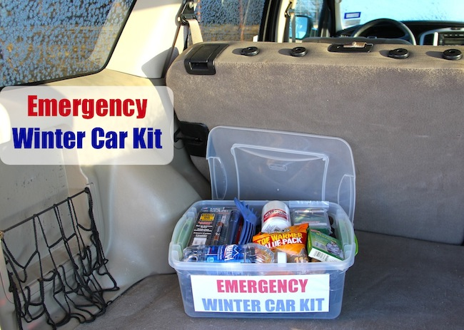 Emergency Winter Car Kit 2
