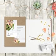 a Creative mess // templates business card + card mock up