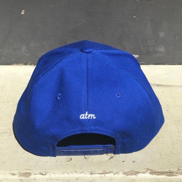 WORDSMITH HAT - blue (back)