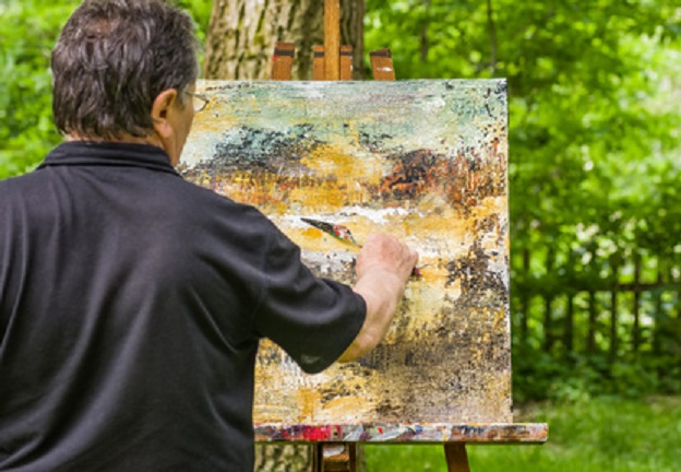 Acrylmalerei für Anfänger Bild Copyright: Fotolia