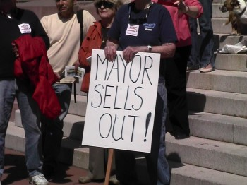 """Mayor Sells Out!"