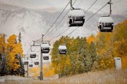 Aspen Snowmass Sees Snowfall