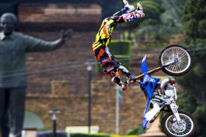 Going BIG at Red Bull X-Fighters Pretoria 2015