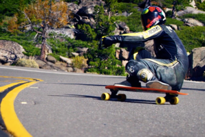 Cannibal Canyon   Downhill Skateboarding on Donner Pass