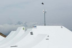 World Record Christian Haller highest snowboard air on hip at Suzuki Nine Knights 2016