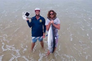 Drone Fishing for Tuna is Brilliant