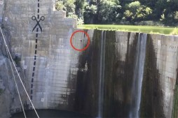 Must Watch – Cliff Jumper Sends It Off Insane 120-ft Dam