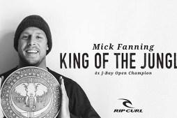 Rip Curl Tribute – Mick Fanning Wins J-bay