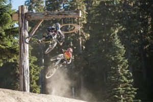 Zink, Wallace, Goldstone and Finestone Shred Whistler Bike Park