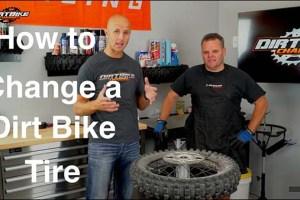 How to Change a Dirt Bike Tire via Dirt Bike Channel