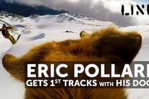 Eric Pollard & his Dogs Get Early Season Powder at Mt Hood!
