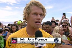 JJF's End-of-Season Interview at Pipe