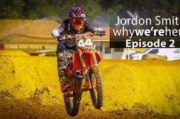 Jordon Smith training with Justin Barcia at Millsaps Training Facility