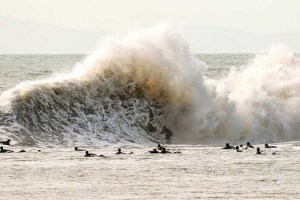 Surfing Mutant Waves at California's Beast of Backwash: Sandspit