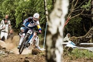 Marcelo Gutiérrez Charges Slippery Trail in Lourdes   UCI Mountain Bike World Cup 2017