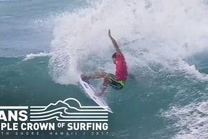 Hawaiian Pro 2017: Day 3 Highlights | Vans Triple Crown of Surfing | VANS