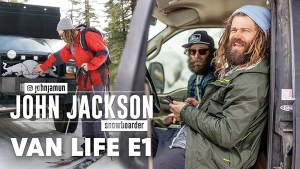 Inside the Van Life of Pro Snowboarder John Jackson. | Vertical Video