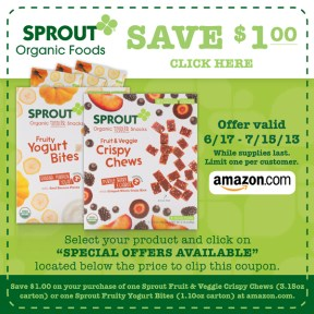sprout, organic, baby food, natural, toddler snacks, vegetables, fruit, toddler snacks coupon  , toddler food, meals, snacks, yogurt bites, on the go, all natural