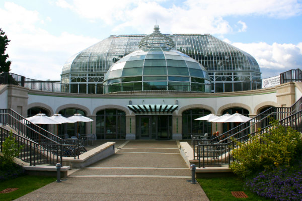 phipps conservatory green house and gardens in pittsburgh pennsylvania
