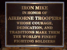 Iron Mike Plaque