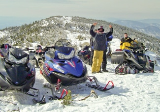 Rent a snowmobile and find Maine the cool way this winter!