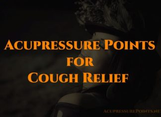 Acupressure Points for Cough Relief