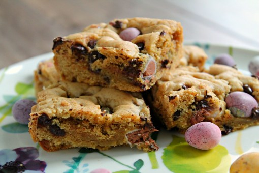 mini egg cookie bars from janes patisserie