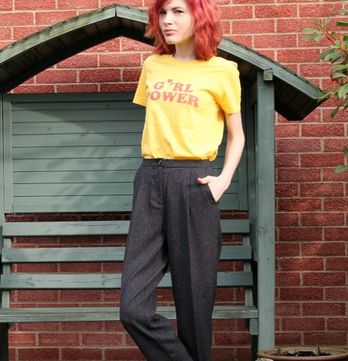 smart casual outfit with monki and teespring