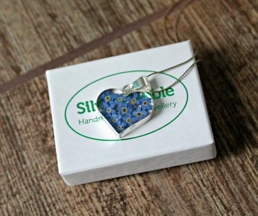 silver bubble jewellery pendant