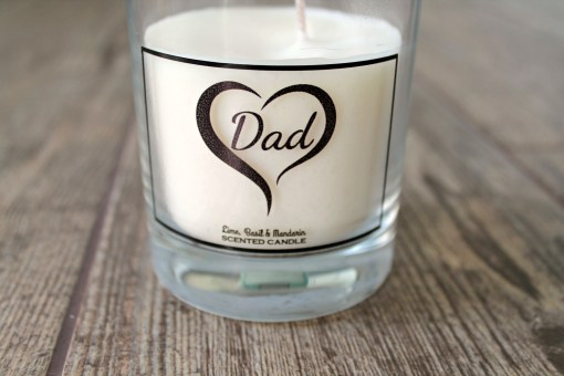 fathers day candle details