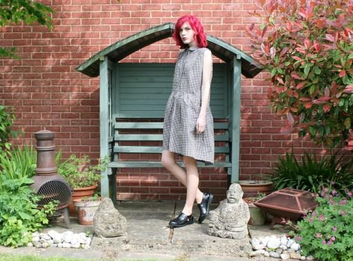 monki gingham dress