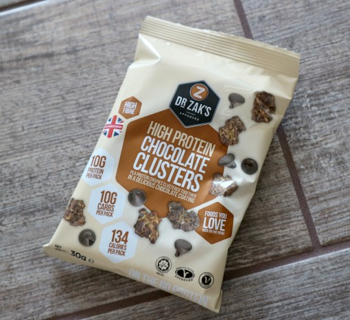 dr zaks protein chocolate clusters