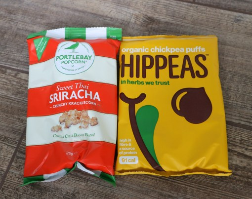 hippeas and popcorn