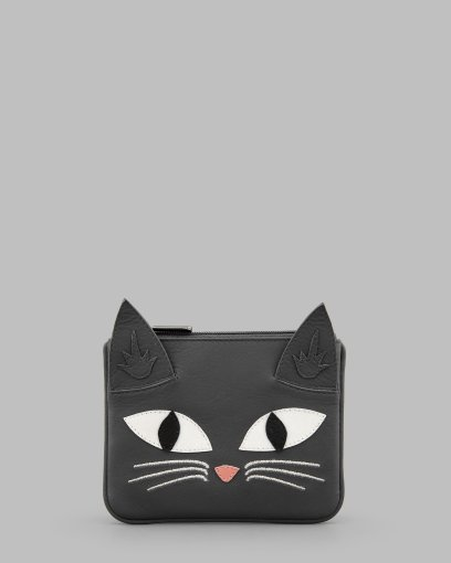 Misty_the_Cat_Grey_Leather_Zip_Top_Purse_A