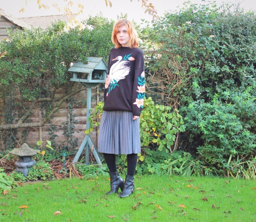 Monki swan jumper
