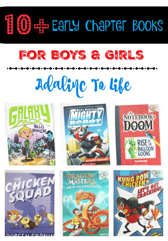 10+ Early Chapter Books for Boys and Girls