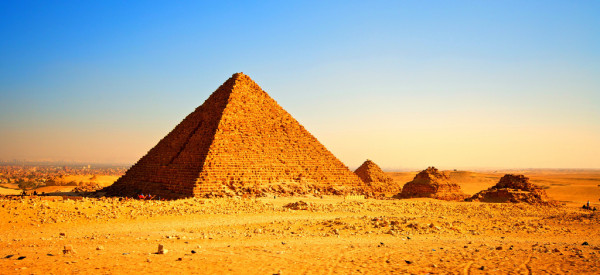 H Khufu pyramid in Egypt